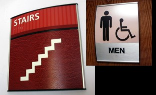 ADA Signs / Architectural Compliancy Signs