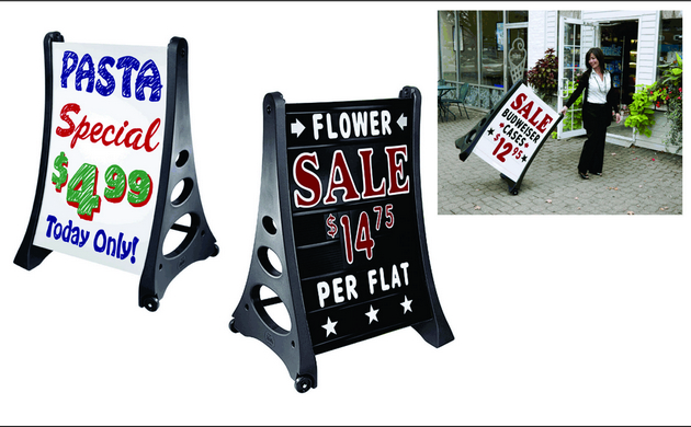 Sidewalk Signs & A-frame Chicago Sign store