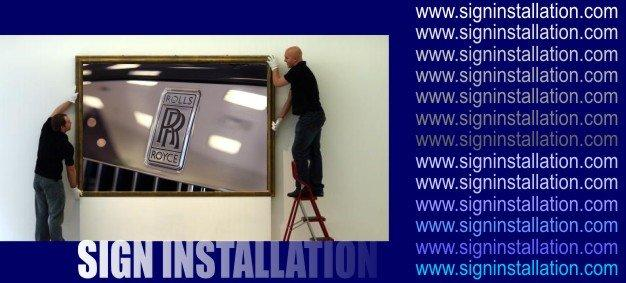 Sign Installation / Sign Maintenance / Repair